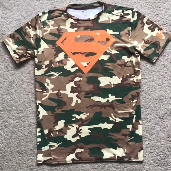 Under Armour Shirts Camo Superman Top Poshmark